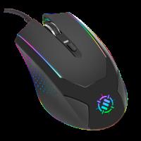 ENHANCE Gaming Mouse with 3500 DPI & High-Precision Optical Sensor for PC - Black